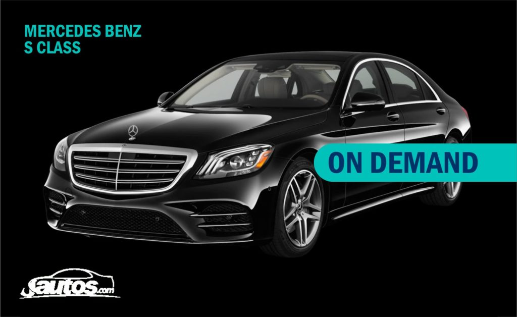 MERCEDES BENZ S CLASS (PRIZE ON DEMAND)