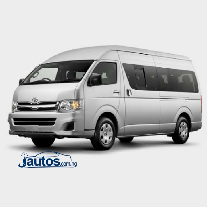 TOYOTA HIACE BUS 2011-2013- N60,000 (AMOUNT PER DAY WITHOUT FUELING)