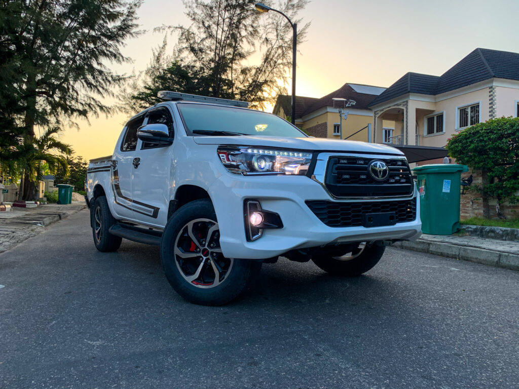 TOYOTA HILUX 2019. AVAILABLE AT N45,000.00 PER DAY WITHOUT FUELING.