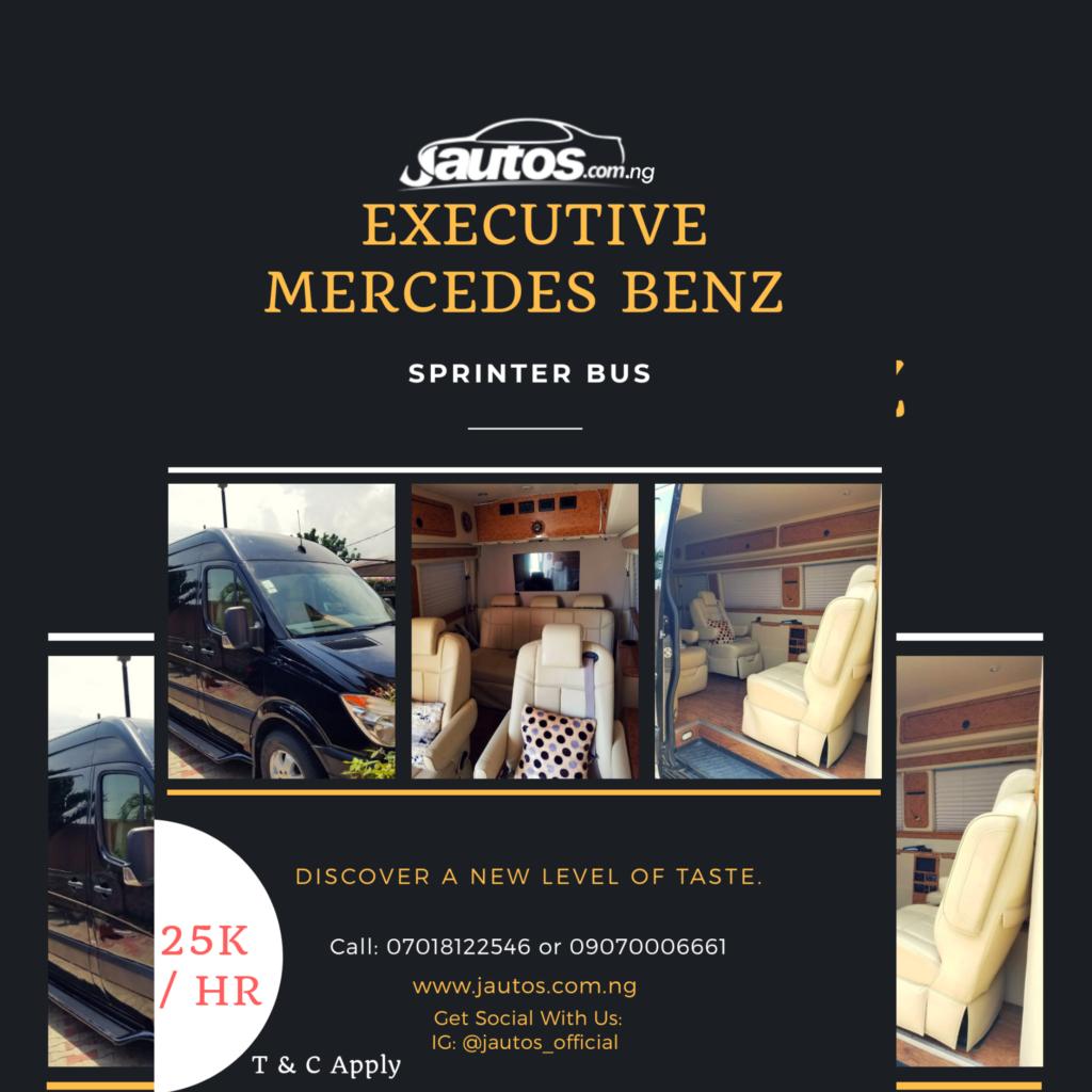 Jautos Executive Mercedes Benz sprinter bus