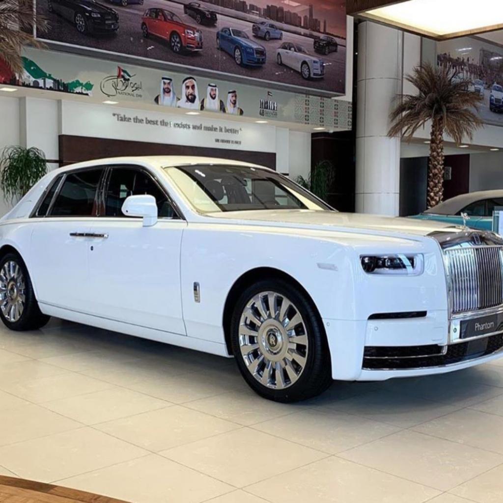 Rolls Royce Phantom in Abuja
