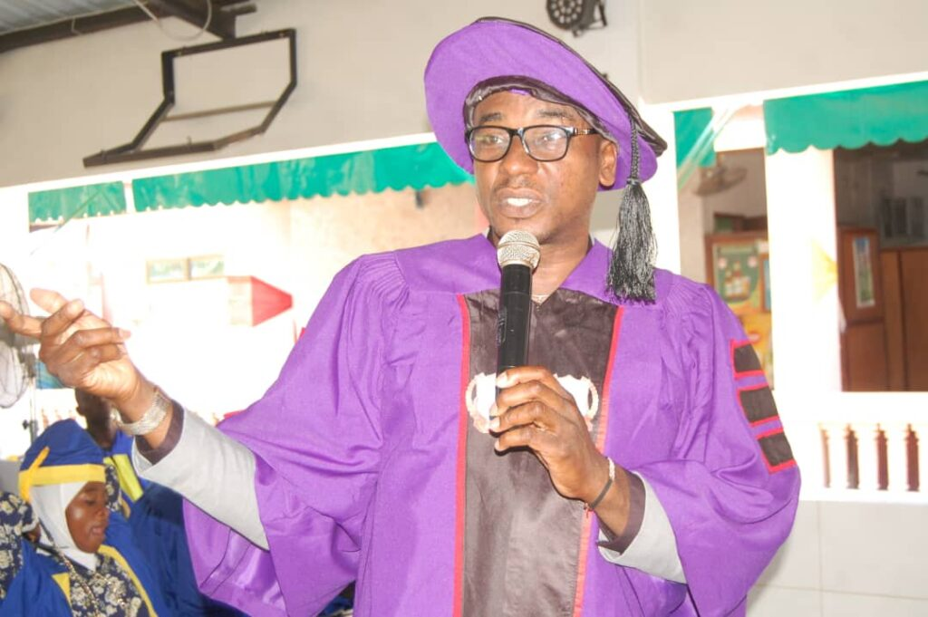 AMB. (DR) UTCHAY ODIMS BAGGED AN HONORARY DOCTORATE DEGREE OF POLITICAL SCIENCE.